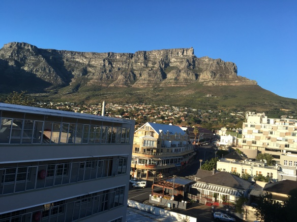 cape town from apartment