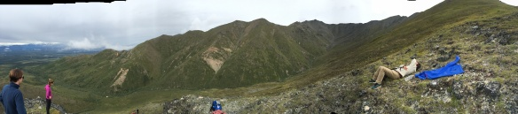 panaroma hike from cabin